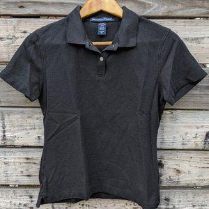 Devon & Jones Basic Black Polo Shirt Size S